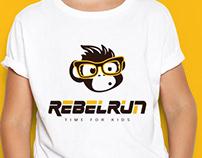 Logo for child sport run