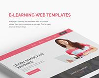 E-Learning Web Template