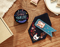 embroidery diy kit