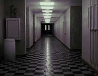 Corridor model W/ a reference photo.