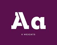 Arkibal Serif Stencil - Typeface