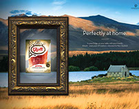 Ghiotti Perfectly at Home Campaign