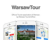 WarsawTour Official Tourist application of Warsaw