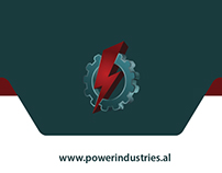 Business card POWER INDUSTRIES