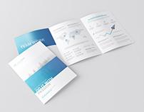 A4 3-Fold Brochure Mockup