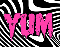 YUM MUSIC PARTY POSTER