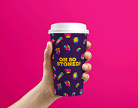 """""""OH SO STONED!"""" Identity+Packaging"""