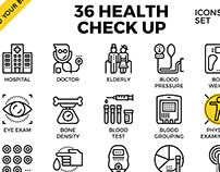 Health Check Up Icons