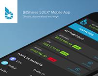 BitShares SDEX Mobile App