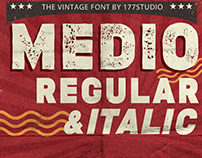 Free Font - Medio Vintage
