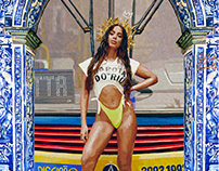 Anitta digital Painting