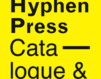 Hyphen Press -Catalogue & Almanack