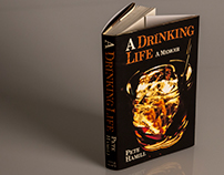 Book Cover Design: A Drinking Life