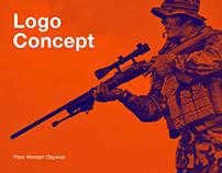 Концепт логотипа для Росс Импорт Оружие