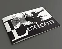 Lexicon Font Booklet Design