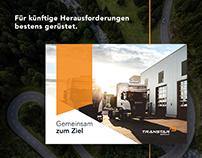 Broschüre-Design für ein Logistik Unternehmen