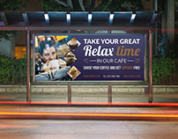 Cafe Billboard Template Vol.4