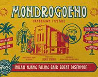 Mondrogoeno Typeface