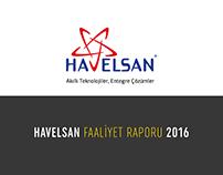 HAVELSAN Faaliyet Raporu 2016