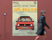 Avándaro - Diseño de cartel para obra de teatro