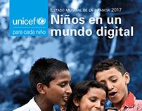 Octavilla Unicef. Niños en un mundo digital.
