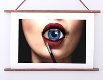 Photoshop eye in mouth
