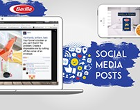 Barilla - social media posts