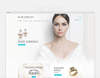 Klim Jewellery - Web Design