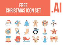 FREE Icon Set Christmas 18 items
