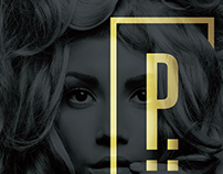 Platinum Hair logo design & branding