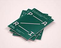 PARI: architecture prize visual identity