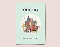 Mini guía de bares y restaurantes en NY.