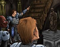 Os Quatro Protetores e O Ladrão - Parte 1