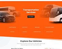 Transport Services Website