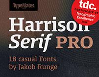 Harrison Pro Typeface
