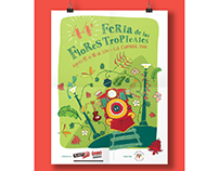 Feria de las Flores Tropicales, La Cumbre Valle.