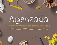 Agenzada Hand-Drawn Font