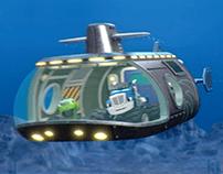 Crusher Submarine
