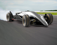 Our Concept for Toyota Car - FT-X Race Car