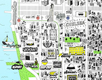 Real Estate Neighborhood Chelsea Map / Iron Works