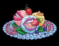 Playful ice cream by Gelof