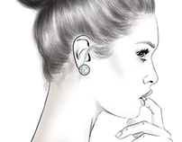 THE DAILY DETAILS: FASHION ILLUSTRATION PORTRAITS