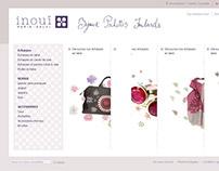 Web design / UI / INOUI / 2012