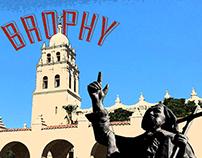 Brophy Travel Poster