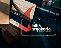 Hill's Smokeria Visual Branding & Restaurant Menu