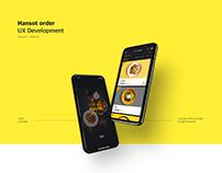 Hansot Order UX/UI eXperience Design