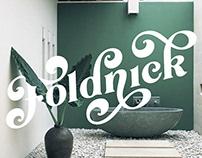 The Foldnick Display Vintage Font