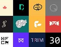 Thirty-Day Logo Challenge @logocore