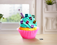 Designer's Cupcake