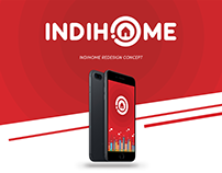 IndiHome Redesign Concept